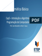 Cap5 - Intrdução-Linguagem - 1Sem2010