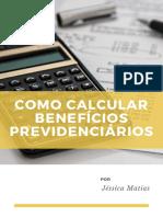 Ebook Como Calcular Beneficios Previdenciarios - Jessica Matias
