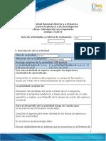 Guia de actividades y Rúbrica de evaluación - Tarea 3 - Tendencias y Campos de Accón