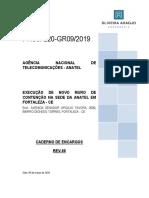 Anexo V - Caderno de encargos e Especificações Técnicas - Memorial Descritivo