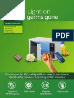 UV-C Disinfection system leaflet