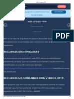 REST y Verbos HTTP