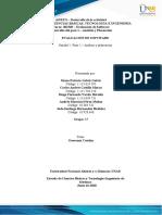 Paso 2 – Análisis y planeación G17
