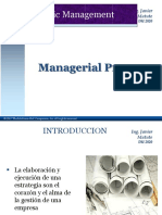 Strategic Management - Managerial Process