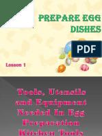 TLE 9 - Prepare Egg Dishes