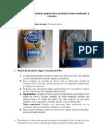 Reconocer las características propias de los productos lácteos destinados al consumo