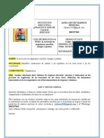 GUIA EXCRESION EN ORGANISMOS SENCILLOS HONGOS Y PLANTAS (1)