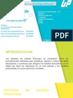 E.D. Métodos de análisis financiero
