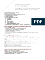 FUNCIONES DE GRUPO DE REANIMACIÓN CARDIOPULMONAR