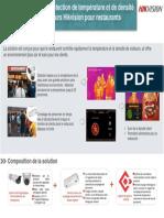 Solution de détection de température et de densité de visiteurs Hikvision pour restaurant.pdf