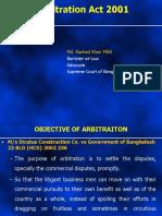 2 ARBITRATION ACT 2001