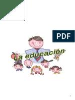 LA EDUCACION EN OBRAS PEDAGOGICAS