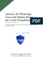 Advisory 4_Whatsapp Users & Admins  8.4.20 copy.pdf446