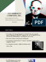 LEO BURNETT COMPANY, INC