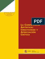 La competencia artística creatividad y apreciación crítica - 2008 - Herrero Valín
