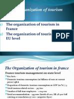 organization of tourism 2-3