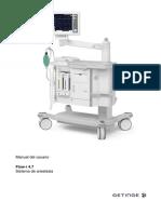 Manual del usuario Flow-i 4.7 Sistema de anestesia