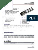 Datasheet gbic LX4401CDR