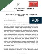 PRIMERA SEPARATA  DE FILOSOFÍA  DE LA CIENCIA, TECNOLOGÍA Y EDUCACIÓN SUPERIOR.pdf