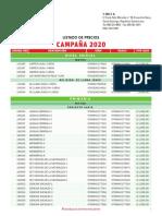 Lista de precios SM 2020 .pdf