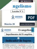 EVANGELISMO LECCION 3