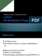 7 Hints; DK based