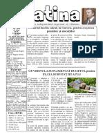 Datina - 28.07.2020 - prima pagină