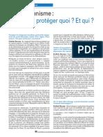 Protectionnisme ou des protections sociales pour un monde de coopérations ?