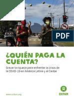 Informe Quien Paga La Cuenta Covid 19