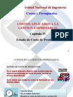 CAP IV Estado Costo Prod