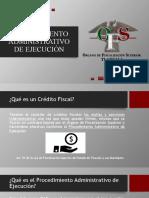 PROCEDIMIENTO ADMINISTRATIVO DE EJECUCIÓN
