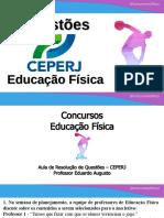 Concursos Educação Física - CEPERJ