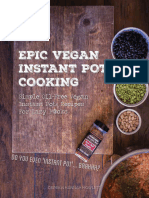 Epic Vegan Instant Pot Cooking - Simple Oil-Free Instant Pot Vegan Recipes For Lazy Fucks (2016).epub