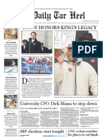 The Daily Tar Heel for January 18, 2011