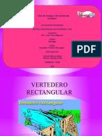 exposicion vertederos rectangular