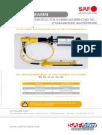 Montagewerkzeug Gummilagerbuchse_Mounting tool for rubber bearing bush