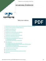 Configuration d'un serveur Syslog-ng – Phelep Jérémy