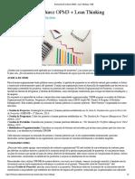 Evaluación de madurez OPM3 + Lean Thinking – PMI