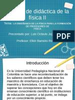 DIDÁCTICA DE FÍSICA II.odp