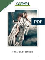 ANTOLOGIA COBAEH DE DERECHO 2015