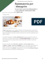 Dieta antinfiammatoria per depurarsi e dimagrire _ DiLei