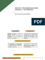 Requerimientos Energeticos y Macronutrientes Por Edad