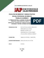 DERECHO NOTARIAL Y REGISTRA TRABAJO MONOGRAFICO