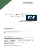 Enseñanza de las lenguas en Colombia desde una perspectiva glotopolítica
