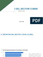 Análisis del sector cobre