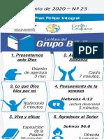 Grupo biblico junio 2020