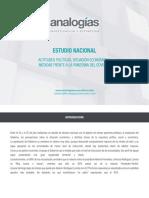 ANALOGIAS - Actitudes Políticas, Situación Económica, y Medidas Frente a La Pandemia Del Covid19 (Julio)