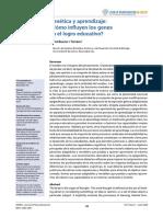 JOEDU - Genética y aprendizaje - Bueno D.