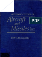 Automatic Control of Aircraft & Missile Blake Lock)