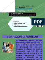 PATRIMONIO FAMILIAR ppt grupo 14